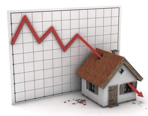 asuntojen hinnat laskee